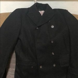 Black Banana Republic Pea Coat